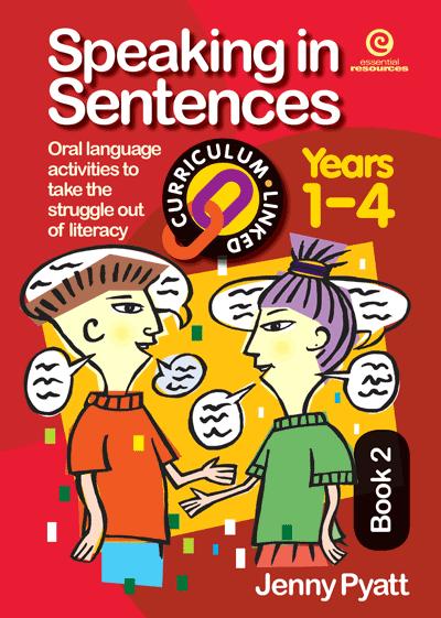 Speaking in Sentences Bk 2 (Ys 1-4) Cover