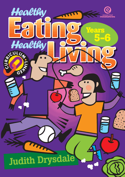 Healthy Eating, Healthy Living Bk 3 Cover