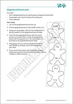 Mult/Div revision game: Gingerbread stack