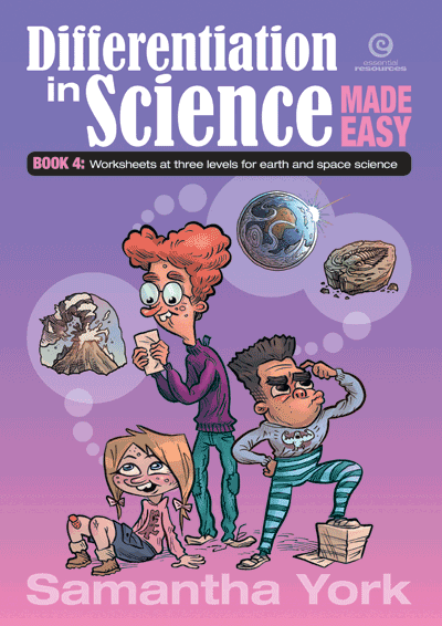 Differentiation in Science Made Easy Earth and Space Science Cover