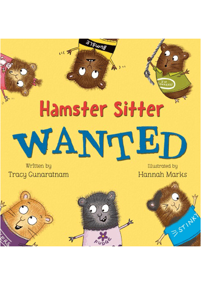 Hamster Sitter Wanted Cover
