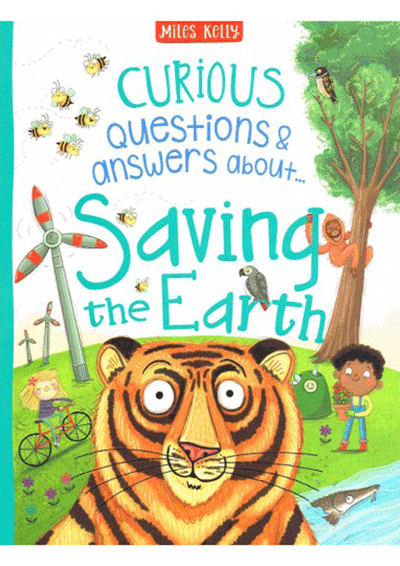 Curious Q&A - Saving the Earth Cover