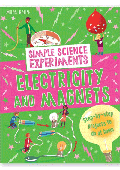 Simple Science Experiments - Electricity & Magnets Cover