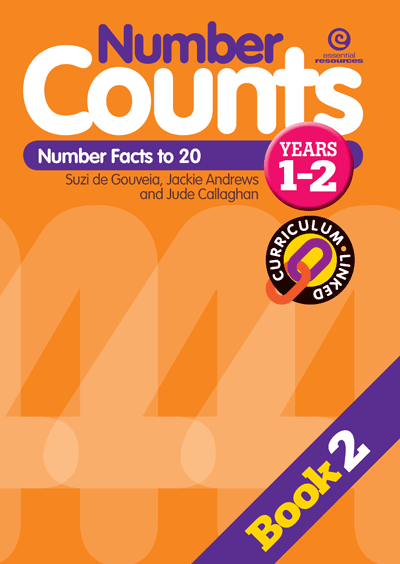 Number Counts: Number facts to 20 (Yrs 1-2) Cover