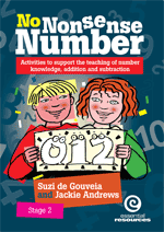 No Nonsense Number: Stage 2 Bk A