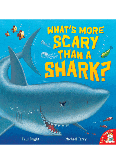What's More Scary Than a Shark? Cover