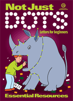 Not Just Dots: Letters for beginners