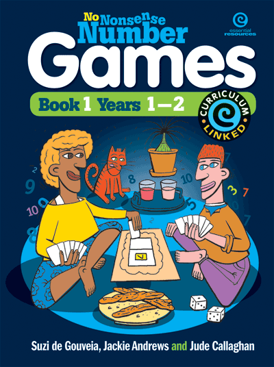 No Nonsense Number Games Bk 1: Yrs 1-2 Cover