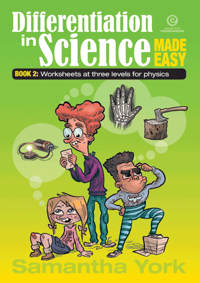 Differentiation in Science Made Easy Physics Cover