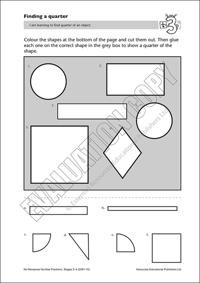 Find quarter of an object Cover