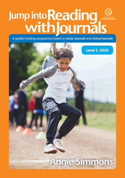 Jump into Reading with Journals, Level 2, 2020 Cover
