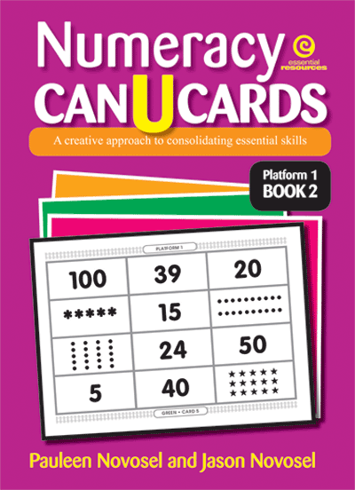 Numeracy CAN U CARDS Yrs 1-3 Platform 1 Bk 2 Cover