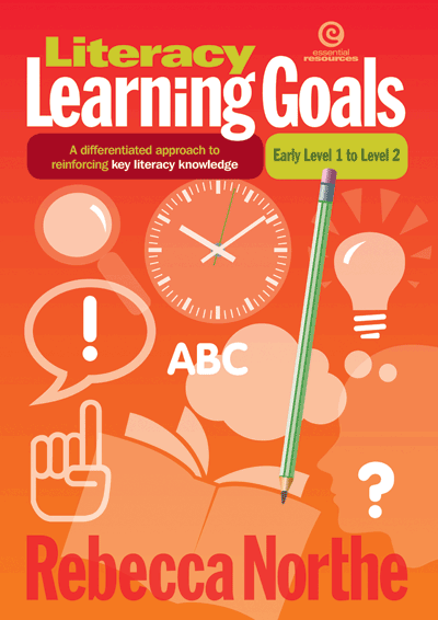 Literacy Learning Goals Early Level 1 to Level 2 Cover