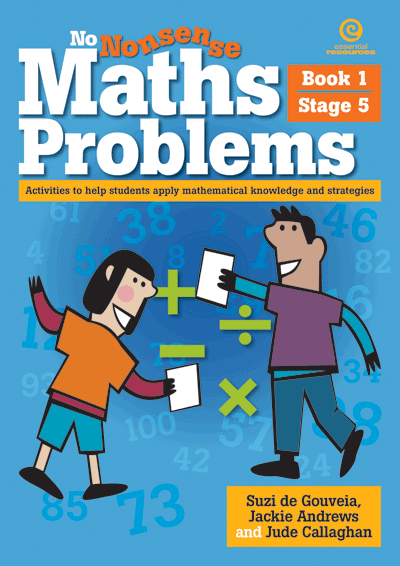 No Nonsense Maths Problems Stage 5 Bk 1 Cover