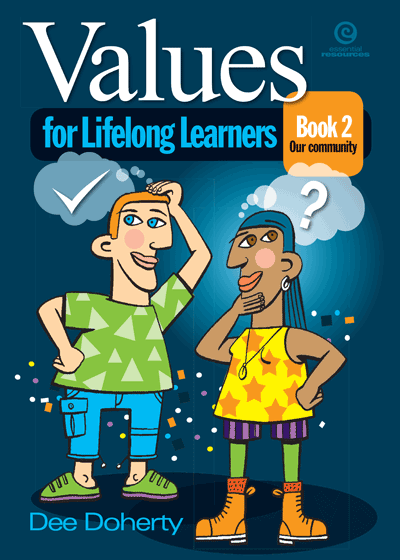 Values for Lifelong Learners Bk 2: Our community Cover