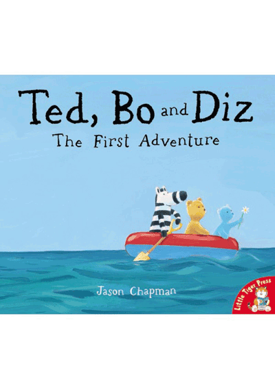 Ted, Bo and Diz - The First Adventure Cover