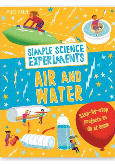 Simple Science Experiments - Air & Water Cover
