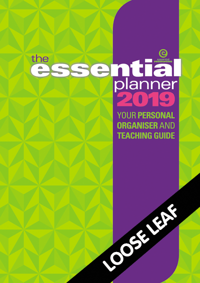 The Essential Planner 2019 Loose leaf Cover