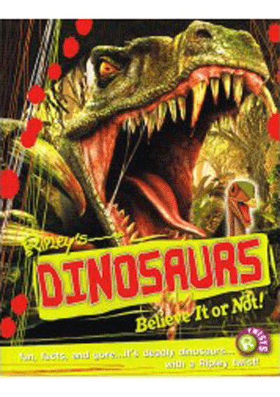 Ripley's Twists - Dinosaurs Believe It or Not! Cover