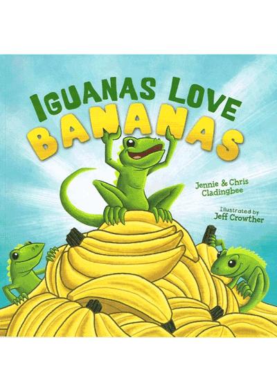 Iguanas Love Bananas Cover