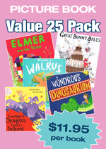 Fiction Variety Pack – 25 assorted picture books