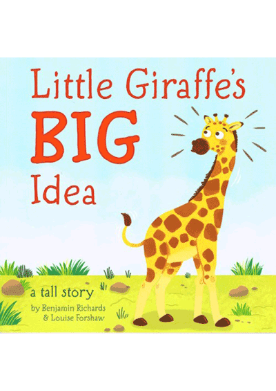 Little Giraffe's Big Idea Cover