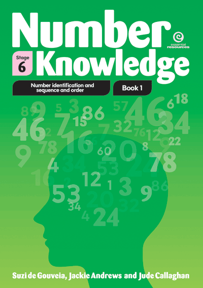 Number Knowledge Bk 1 Identification, sequence, order Stg 6 Cover