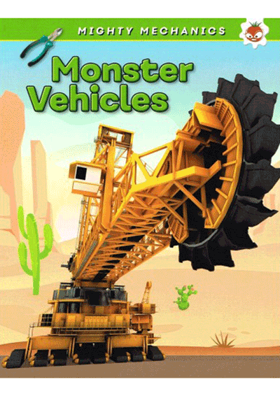 Mighty Mechanics - Monster Vehicles Cover