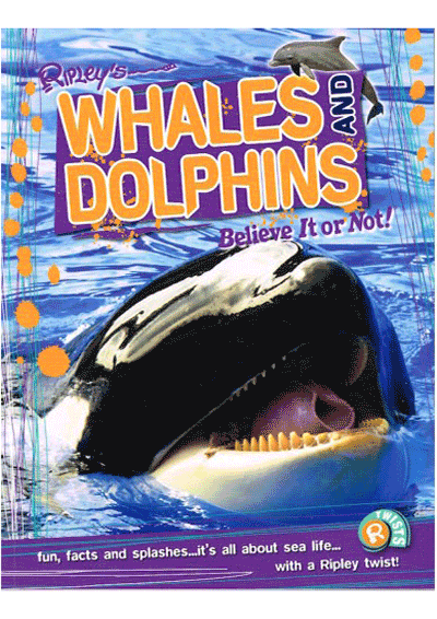 Ripleys Twists - Whales & Dolphins Cover