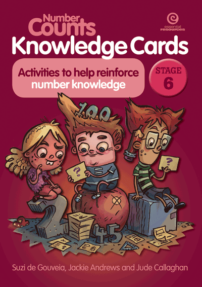 Number Counts Knowledge Cards Stage 6 Cover