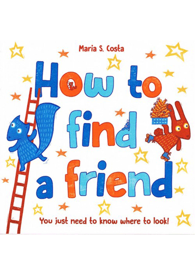 How to find a friend Cover