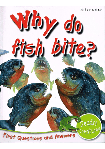 Why do fish bite? Cover