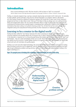 Coding in the classroom - an introduction