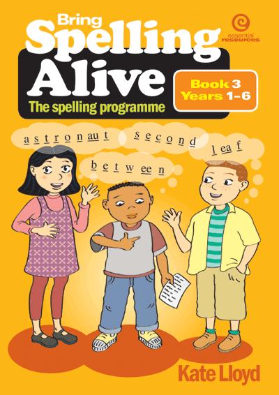 Bring Spelling Alive Bk 3 Yrs 1-6 Cover