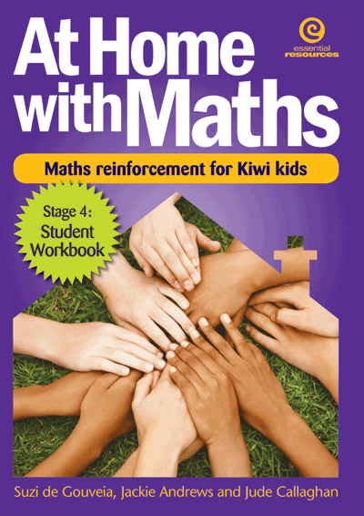At Home with Maths - Reinforcement for Kiwi kids (Stg 4) Cover