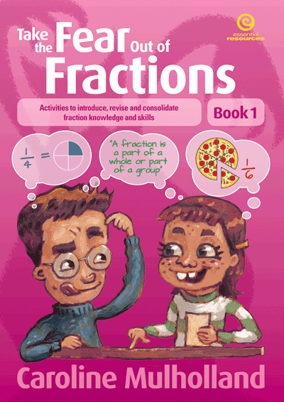 Take the Fear Out of Fractions - Book 1 Cover