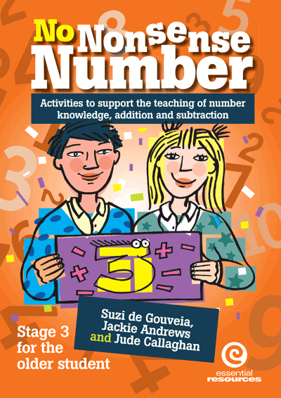 No Nonsense Number: Stage 3 For Older Students Cover