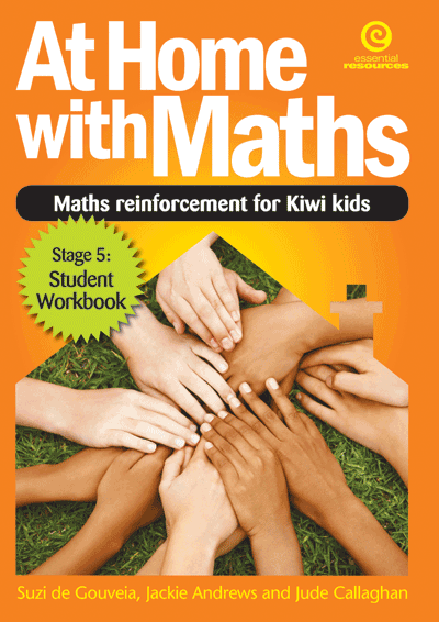 At Home with Maths - Reinforcement for Kiwi kids (Stg 5) Cover