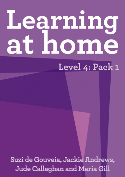 Learning at Home – Level 4: Pack 1 Cover