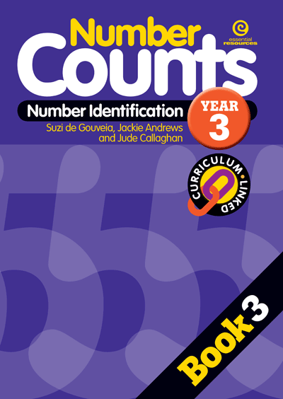 Number Counts: Number identification Yr 3 Cover
