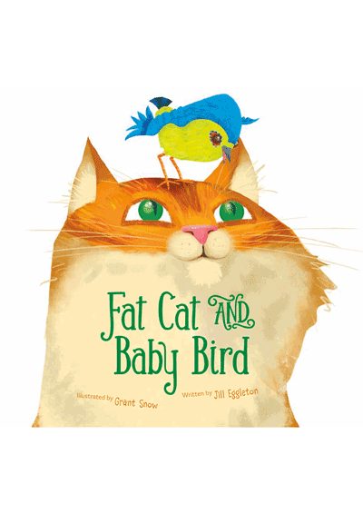Fat Cat and Baby Bird Cover