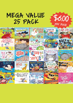 Mega Value Sale Pack - 25 Assorted picture books