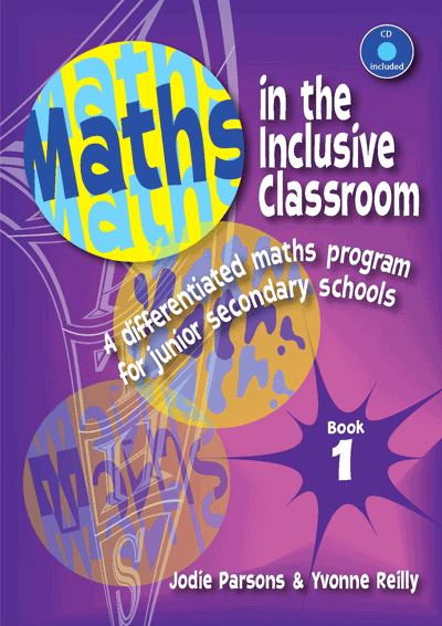 Maths in the Inclusive Classroom: Book 1 Cover