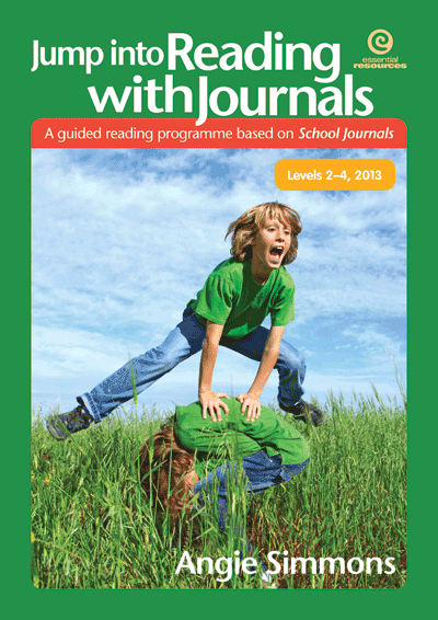 Jump into Reading with Journals L2-4, 2013 Cover