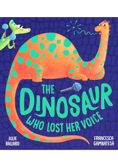 Dinosaur who lost Her Voice Cover