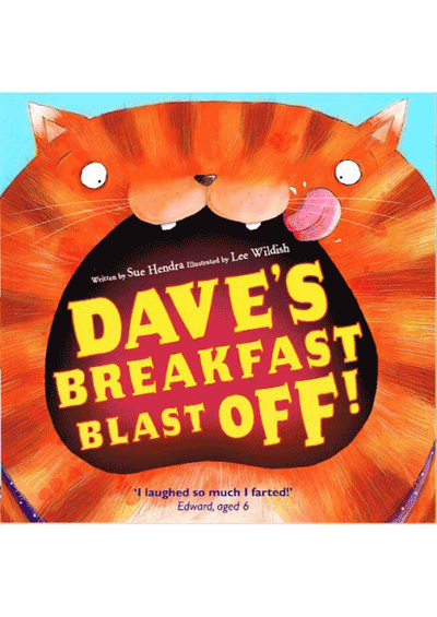 Dave's Breakfast Blast Off Cover