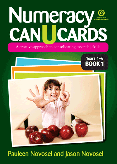 Numeracy CAN U CARDS Yrs 4-6 Platform 2 Bk 1 Cover