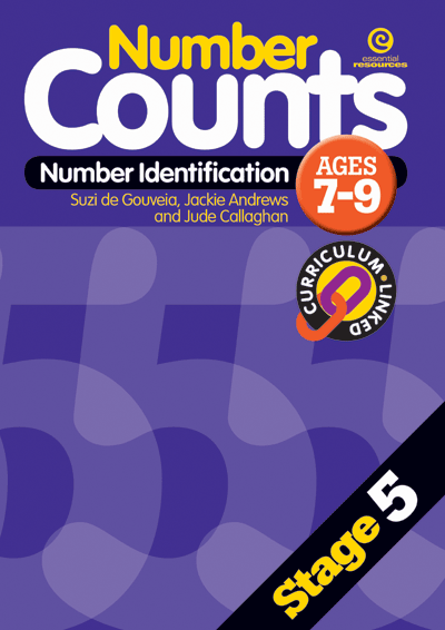 Number Counts: Number identification (Stage 5) Cover