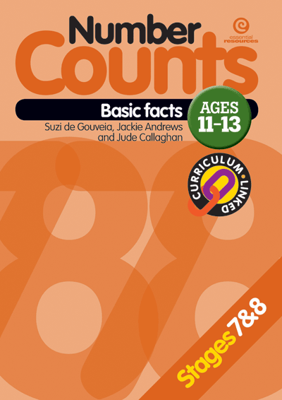 Number Counts: Basic facts  (Stages 7 & 8) Cover