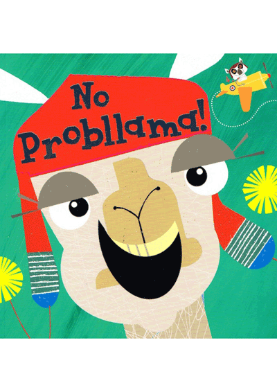 No Probllama Cover